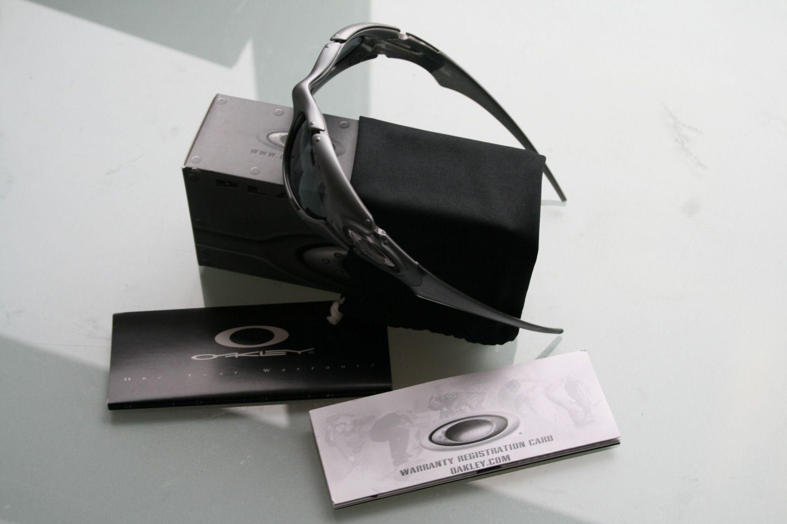 Oakley Dark Silver Black Iridium Lens BNIB SKU# 03-850 - platesilver.jpg