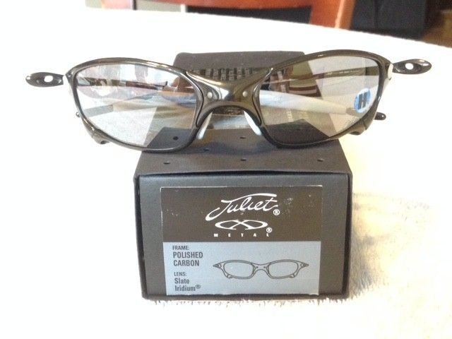 BNIB Matching Juliets (Polished Carbon Ichiro) - $1075 Or Best Offer - Polished Carbon1.JPG