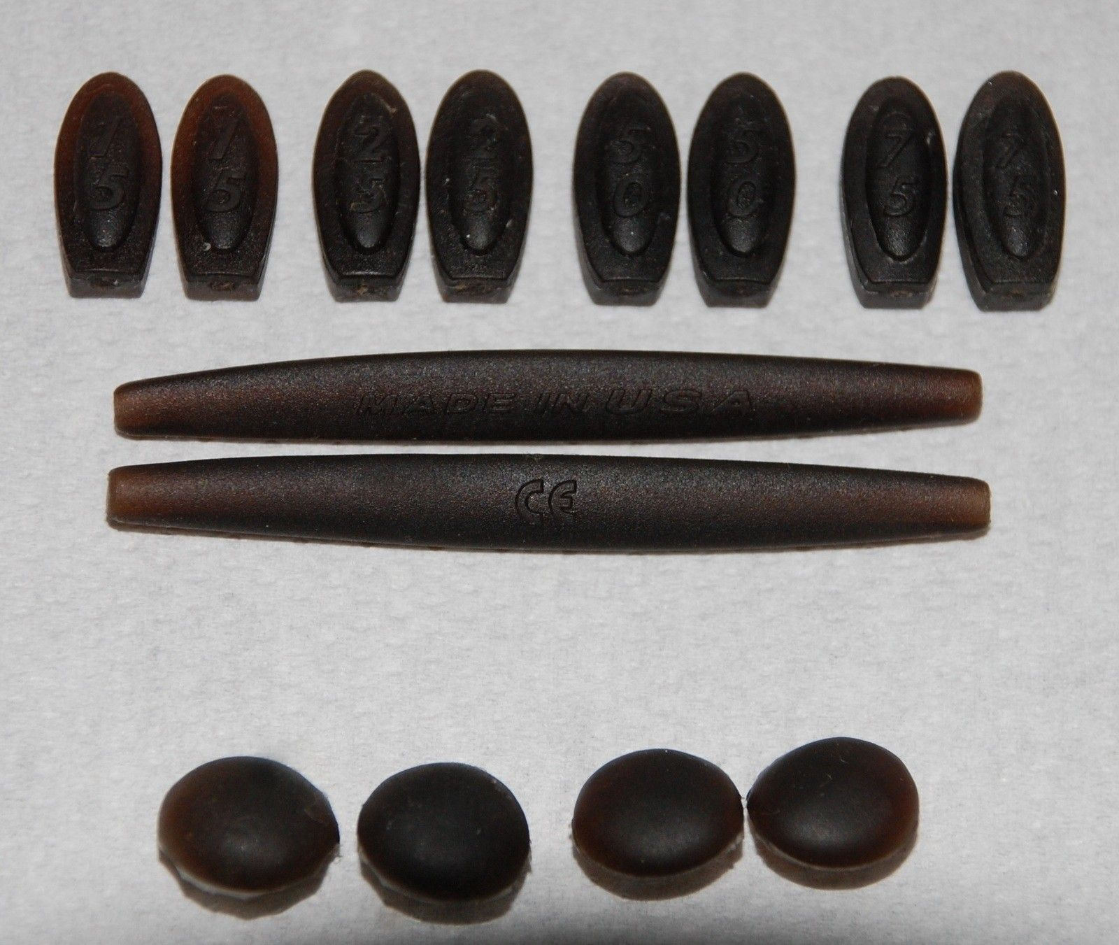 R1 OEM Full rubber kit (with 15-25-50-75 Temple s. and 2 different size nose bombs) - R1 F.jpg