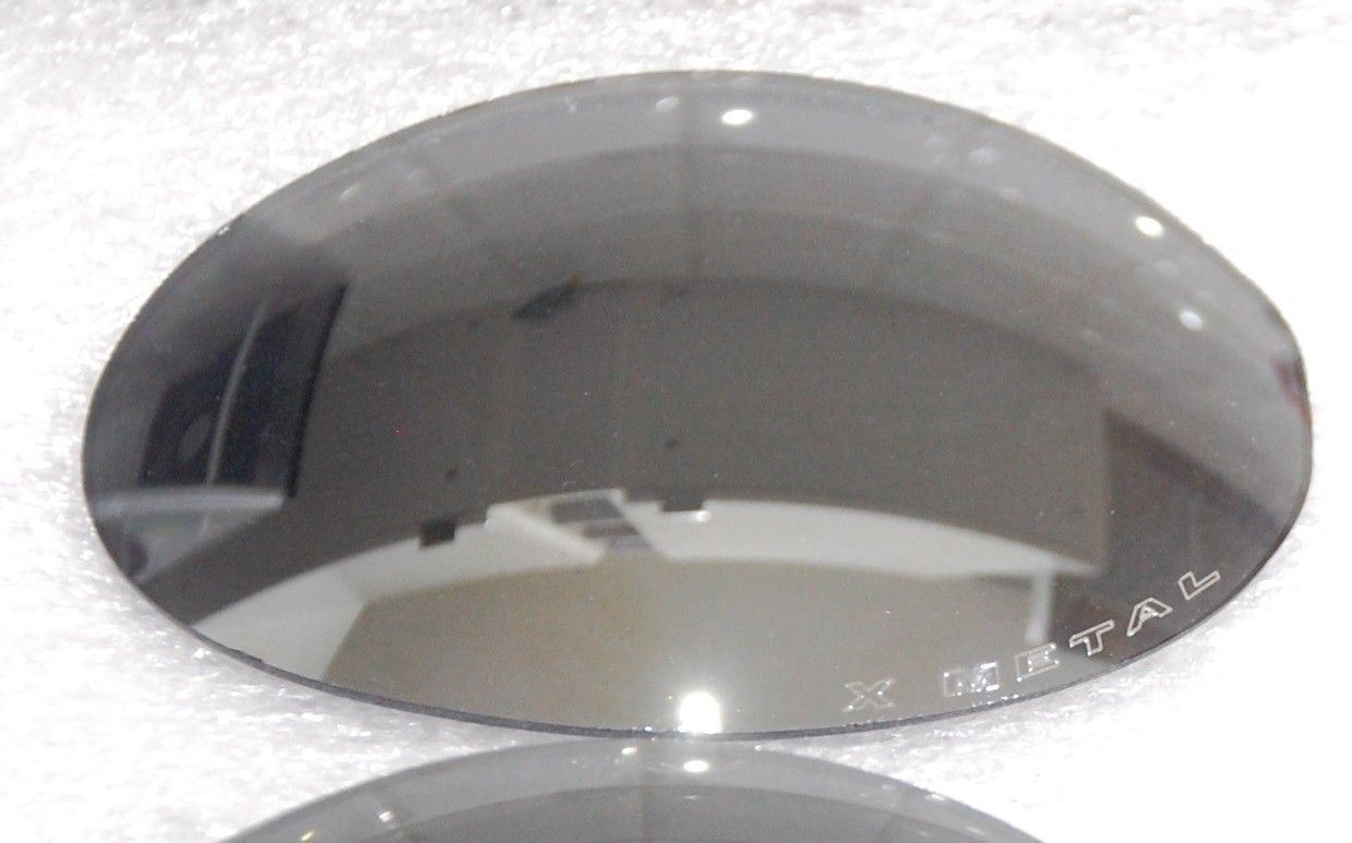 R1 Black Iridium lenses. Only left (the X-metal etched) side. - R1 Lenses2.jpg