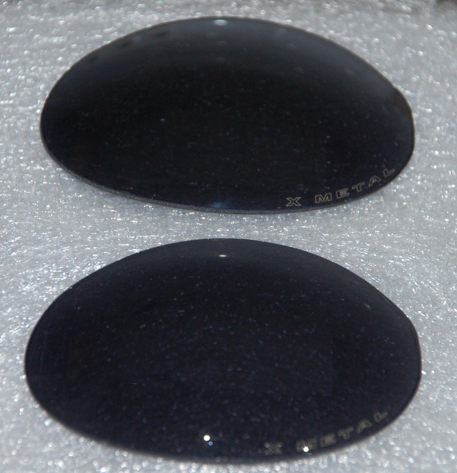 R1 Black Iridium lenses. Only left (the X-metal etched) side. - R1 Lenses3.jpg
