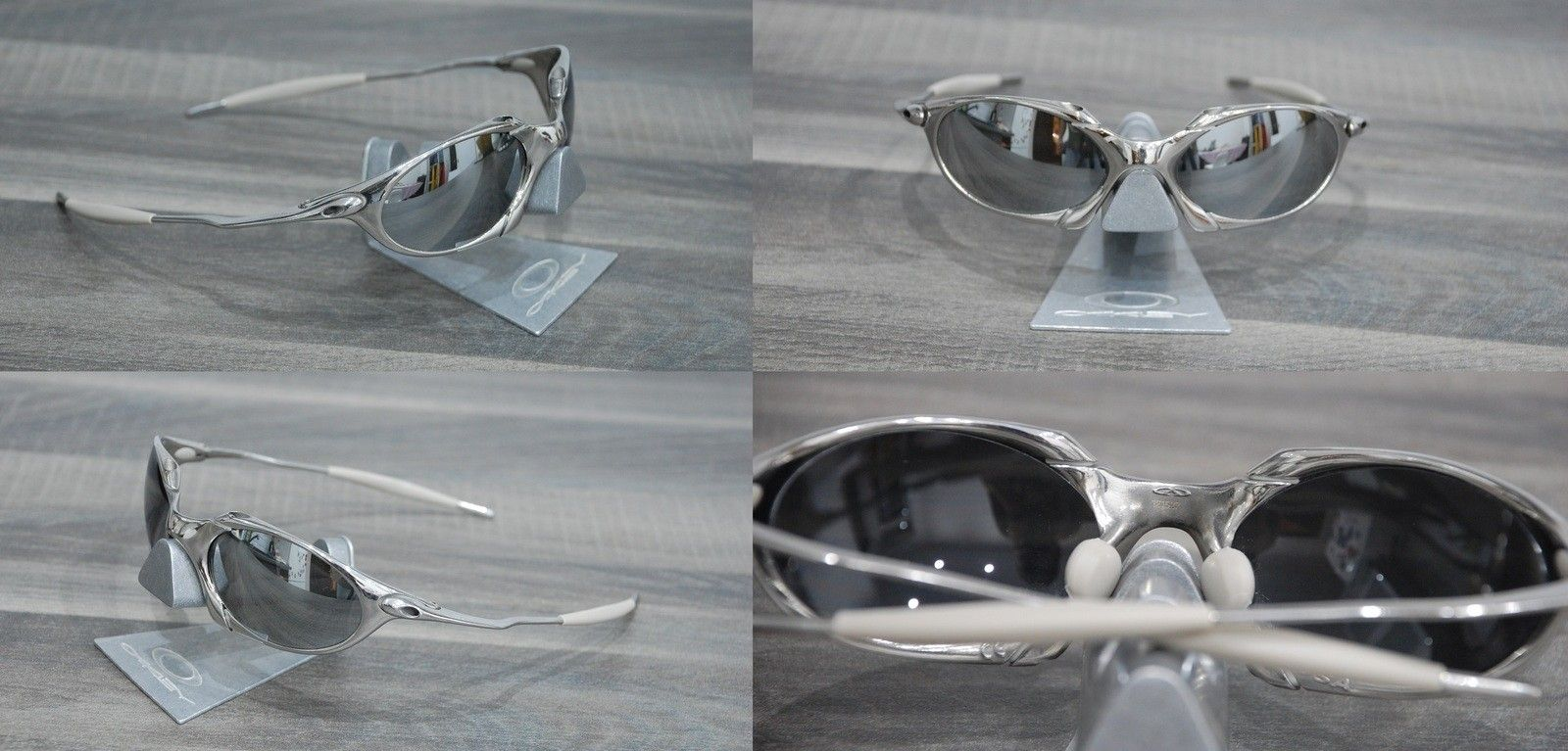 Polished R1 with silver mirror lenses and sand grey rubbers. - R1 polished.jpg