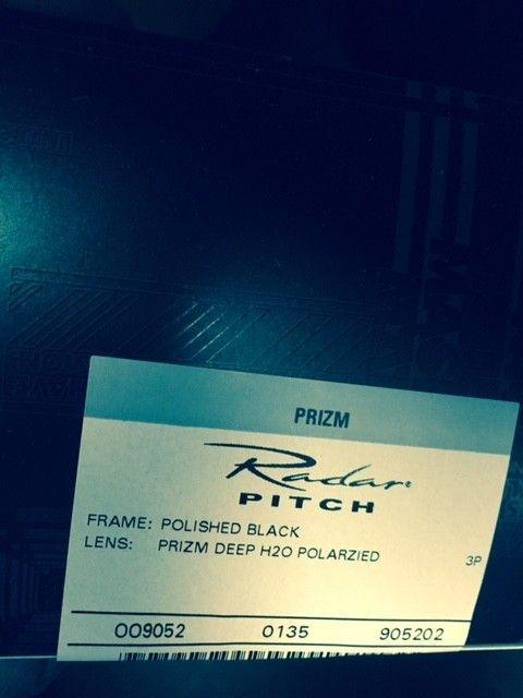 Brand New Radar Pitch Polished Black with Deep H2O Prizm - radar pitch prizm.jpg