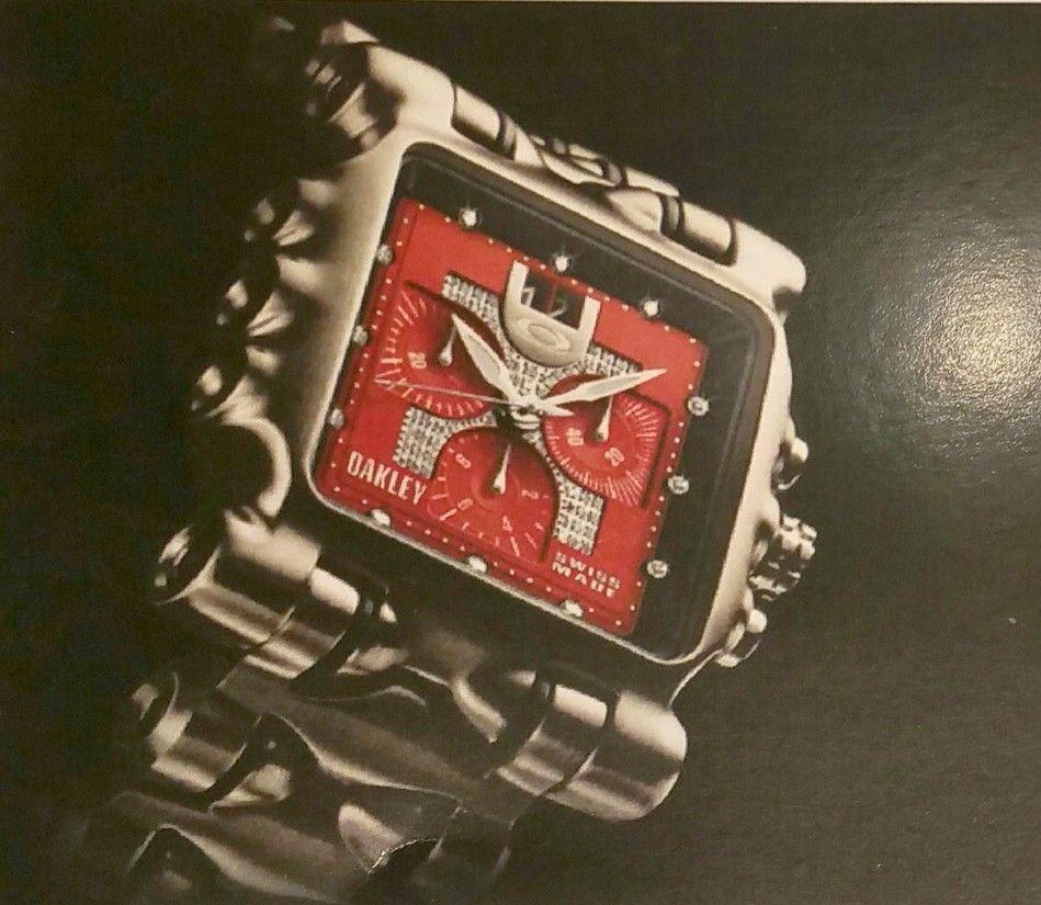 MM Red Face Diamond Dial Edition with Brushed Titanim Bracelet $4K - red.diamond2.jpg