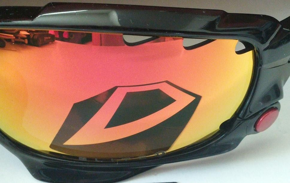 N-Specs Fire Blazer LX Silver Mirrored Lens Safety Glasses Each
