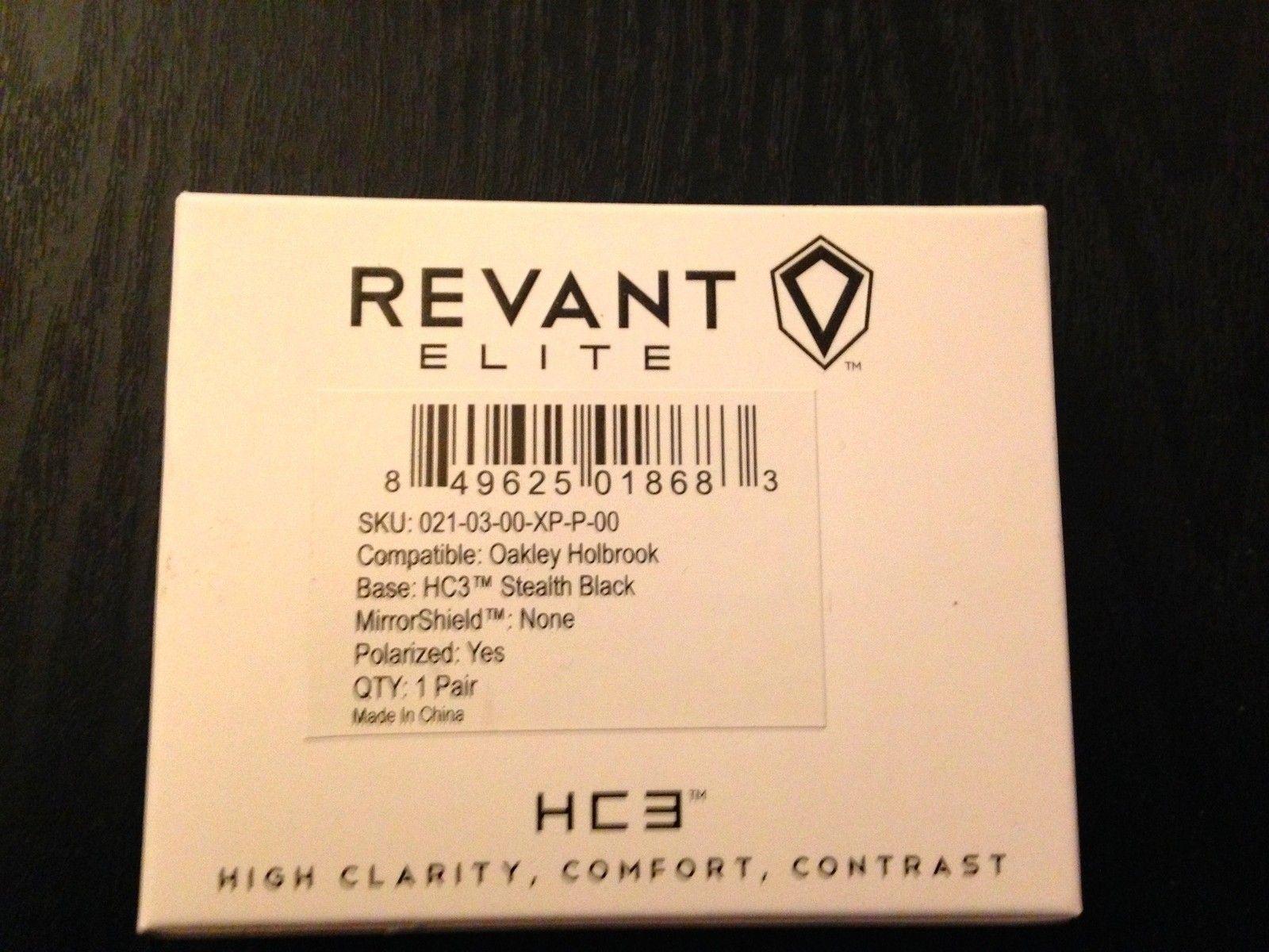 Revant Optics HC3 Elite Holbrook Lens Review - Revant_Elite_HC3_Holbrook_lenses.jpg