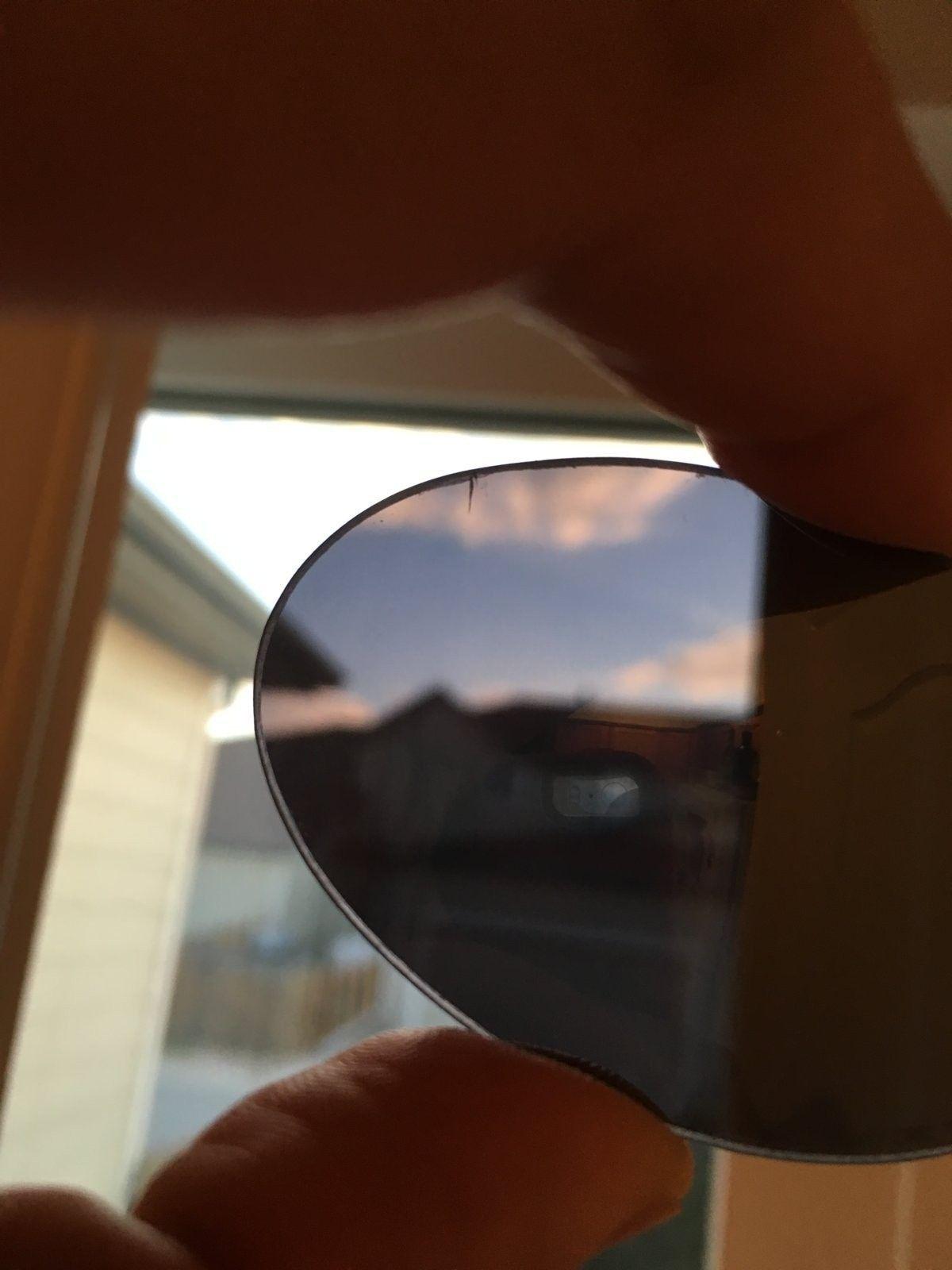Genuine XMetal Etched OEM Black Iridium Romeo 1 Lenses with small cracks 9/10 - Romeo_1.jpeg