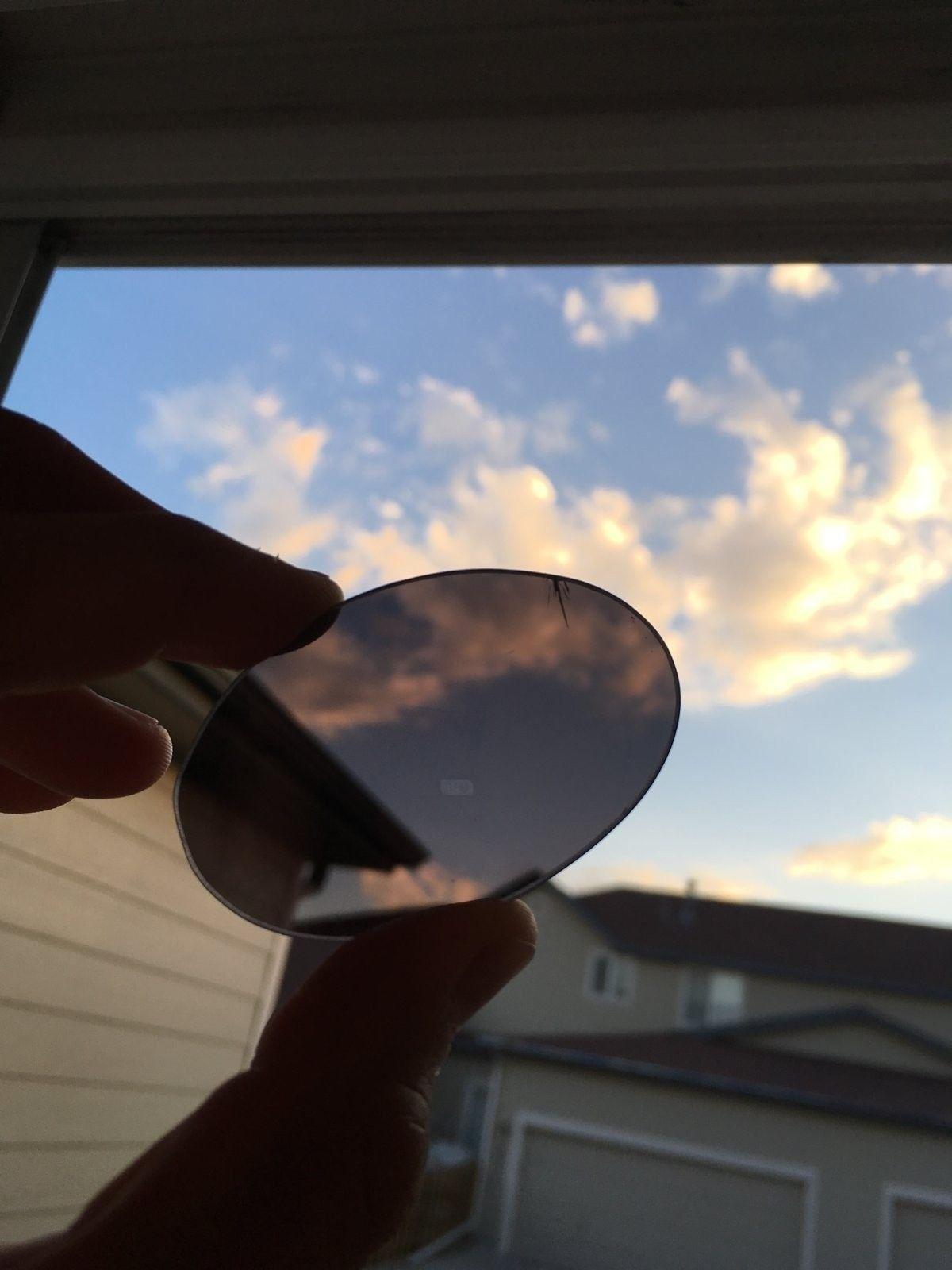 Genuine XMetal Etched OEM Black Iridium Romeo 1 Lenses with small cracks 9/10 - Romeo_2.jpeg