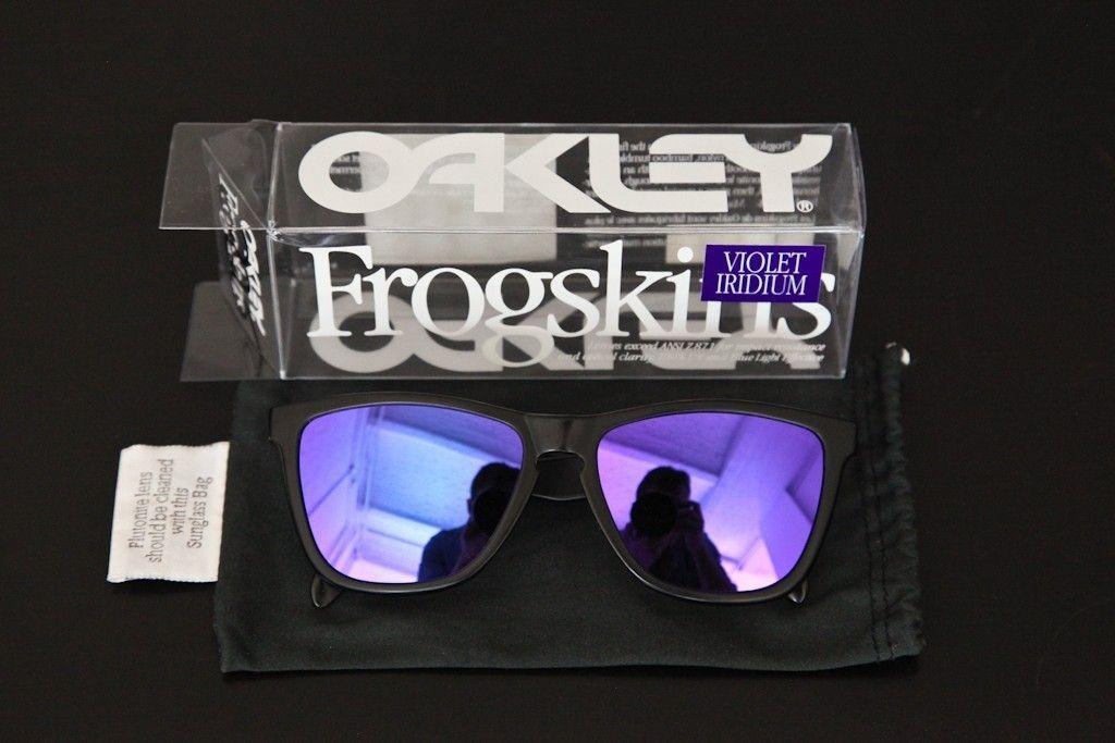 GEN 1 Frogskins Violet Iridium W/ Box And Micro - rvartf.jpg