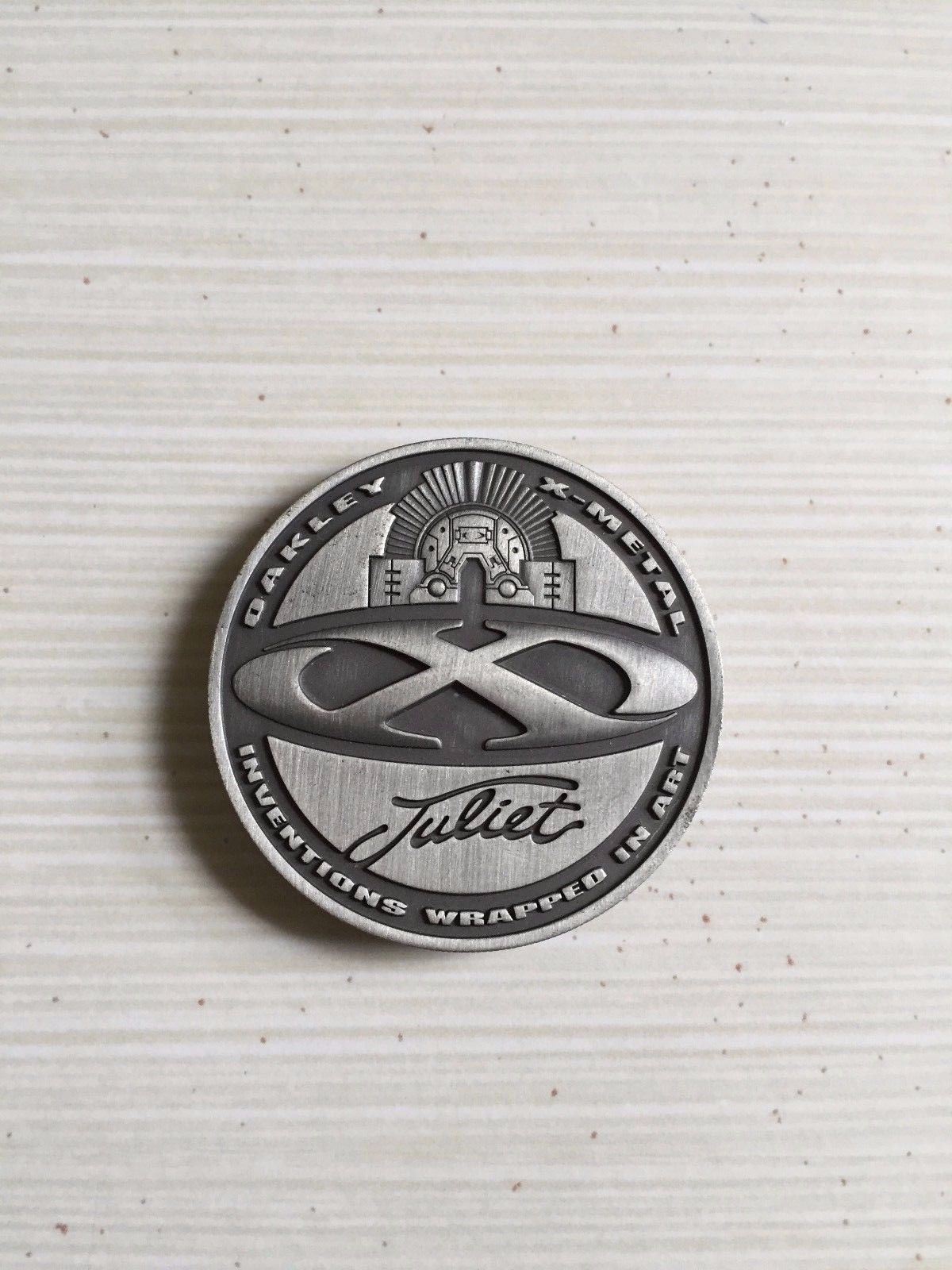 Juliet X Metal Collector's Coin - Great Condition! - s-l1600-7.jpg