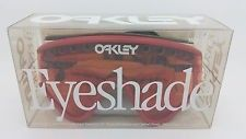 New Oakley Eyeshade Sunglasses Red Persimmon Original Rare Vintage 1990 in box - s-l225.jpg