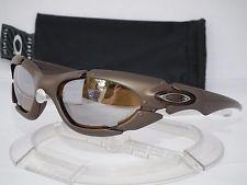 2999461809 For Sale - Oakley Plate Sunglasses Bronze   Titanium Iridium ...