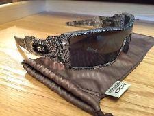 RARE HOLIDAY 2009 Oakley Frost Matte Clear w/ Black Text & Black Iridium Oil Rig - s-l225.jpg