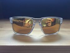 Oakley Holbrook Sunglasses Clear Gold Rare Combo - s-l225.jpg