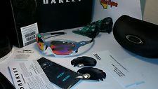 Oakley Racing Jacket Vented Sunglasses Fog /+ Red & Black Lenses - s-l225.jpg