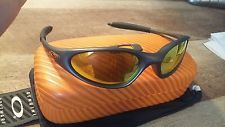 Rare Oakley Minute 1.0 Gunmetal Gray/Fire Iridium! Square O hard case included!! - s-l225.jpg
