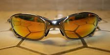 Oakley Juliet Polished Frame Fire Iridium Polarized Lens Used Rare in Box! - s-l225.jpg