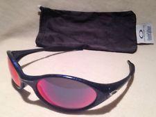 Oakley eye jacket cobalt blue Vintage sunglasses Rare Web Crackle Pattern/Fire - s-l225.jpg