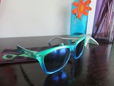 Oakley Frogskins Marine Fade/Blue Iridium Sunglasses 24-237 Rare - s-l225.jpg