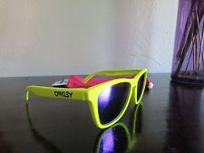 Oakley Frogskins Neon Yellow w/ Violet Iridium - s-l225.jpg