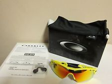 Oakley Radar Path Vented Fire Lens Yellow Lemon Peel Frame - s-l225.jpg