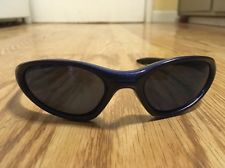 Pre-Owned RARE Oakley Minute Crystal Blue Flower Sunglasses w/Ice Iridium Lenses - s-l225.jpg