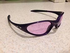 Rare Unisex Oakley Minute Purple Sunglasses Smoke Purple Lenses - s-l225.jpg