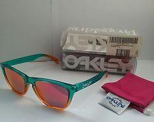 Oakley Frogskins Fire Flora Fade w/ Ruby Iridium - s-l225.jpg