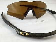 Oakley M Frame Sweep Gold X Gold Iridium 09-109 RARE Sunglasses - s-l225.jpg