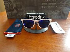 Oakley Team USA Frogskins White Team USA Kinetist Positive Red Iridium NIB RARE - s-l225.jpg