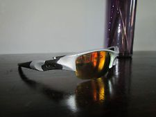 Oakley Flak Jacket Silver Frame Fire Iridium Lenses 03-884 Rare - s-l225.jpg