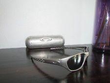 Vintage Oakley Fives 1.0 FMJ 9mm Gunmetal/Silver Rare Sunglasses 03-137 Torpedo - s-l225.jpg