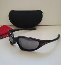 b41289e9f02 New OAKLEY XX TWENTY 1.0 BLOOD SKULL BLACK IRIDIUM Sunglasses RARE minute  splice - s-