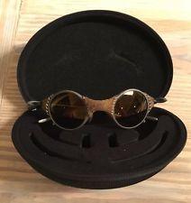 c91ebd2a0b ... cheapest rare oakley mars leather sunglasses gold x metal fight club  michael jordan s l225 72e26