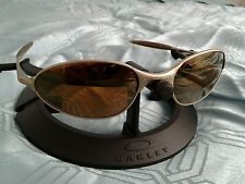 927383b329a Oakley C Wire Platinum Gold Iridium Lenses Vintage Rare Collectible -  s-l225.