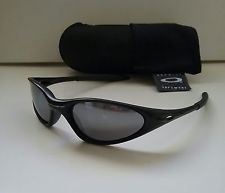 9ddf00113e0 New OAKLEY MINUTE 1.0 RARE GEN 1 Matte Black Bk irid Sunglasses splice xx  twenty -