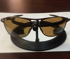 6e6569c5a68 •••Oakley Crosshair OO4060-04 Brown Chrome Bronze POLARIZED Sunglasses RARE
