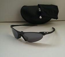 af769e0cce042 OAKLEY VINTAGE ZERO 0.7 BLACK   BLK Iridium RARE Sunglasses sub 0.1 2 3 4 5  6 xx