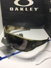 a95db40155 New Rare 100% Oakley Camo Woodland Fuel Cell Desert Camo Sunglasses - s-l225
