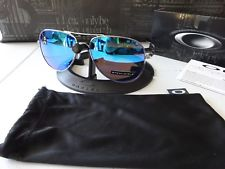 c578190219 For Sale - Oakley Elmont Large Polished Chrome Prizm Sapphire NIB ...