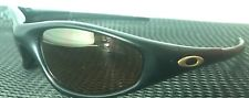 2bde5ed6bb RARE VINTAGE Oakley Straight Jacket MATTE BLACK GOLD IRIDIUM Sunglasses VGUC  - s-l225