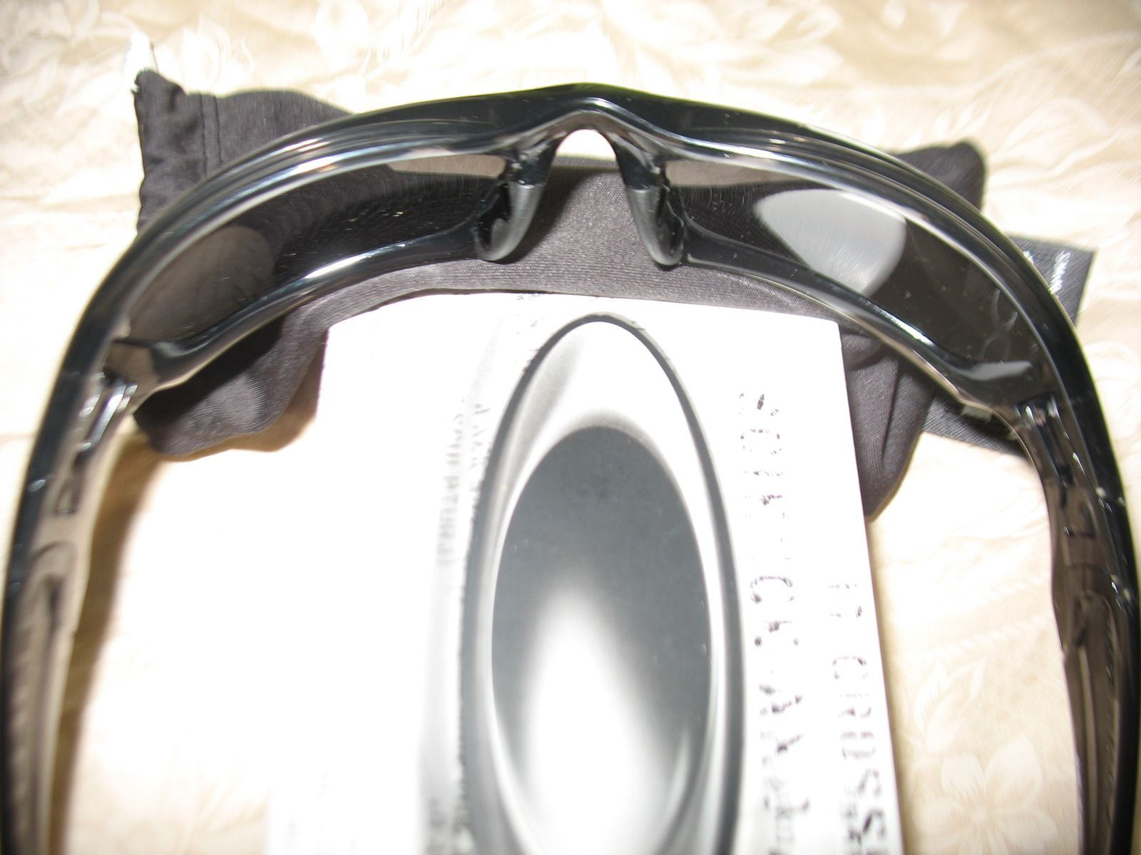 Custom Straight Jacket - Grey Smoke W/Black Iridium Polarized Lens - s87u.jpg