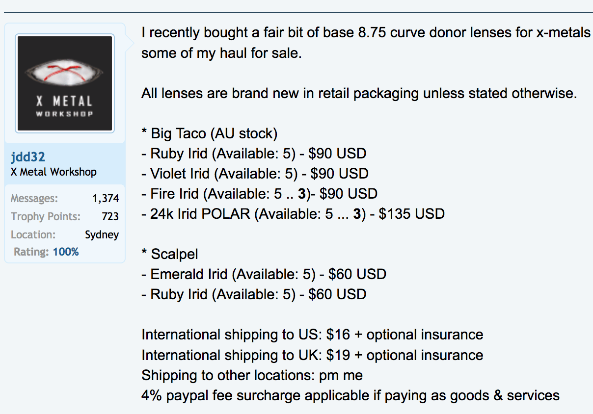 BNIB Big Taco Emerarld Polarized Iridium lenses for Carbon Juliet *traded* - Screen Shot 2016-09-06 at 9.20.08 PM.png