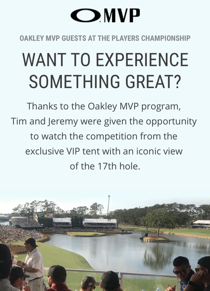Oakley MVP Program VIP Event