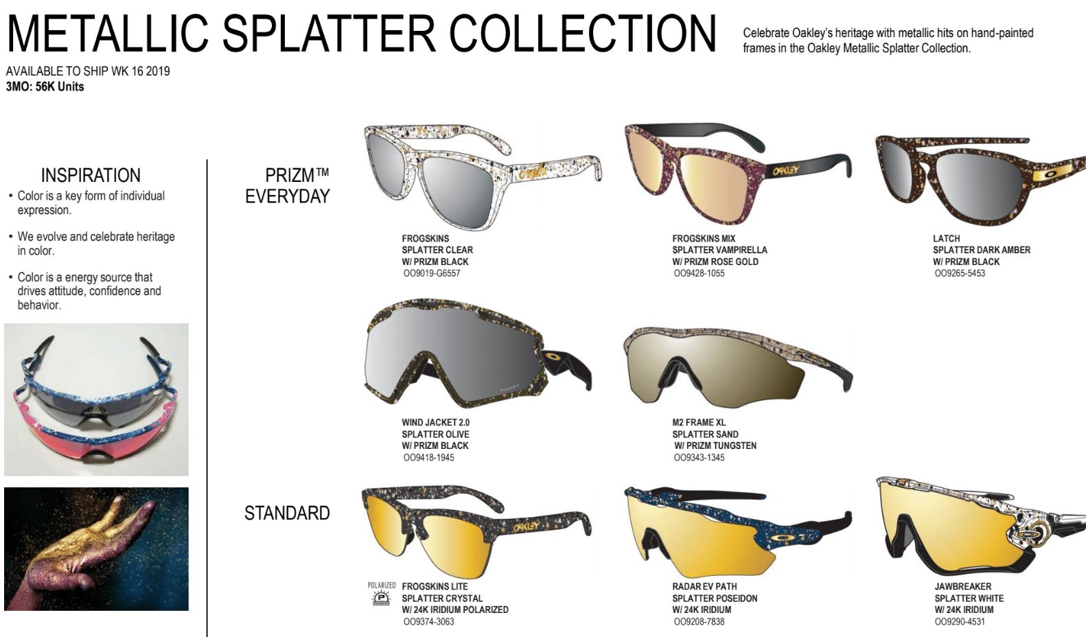 Oakley Metallic Splatter Collection 2019 - Screen Shot 2019-04-09 at 6.18.19 AM.png