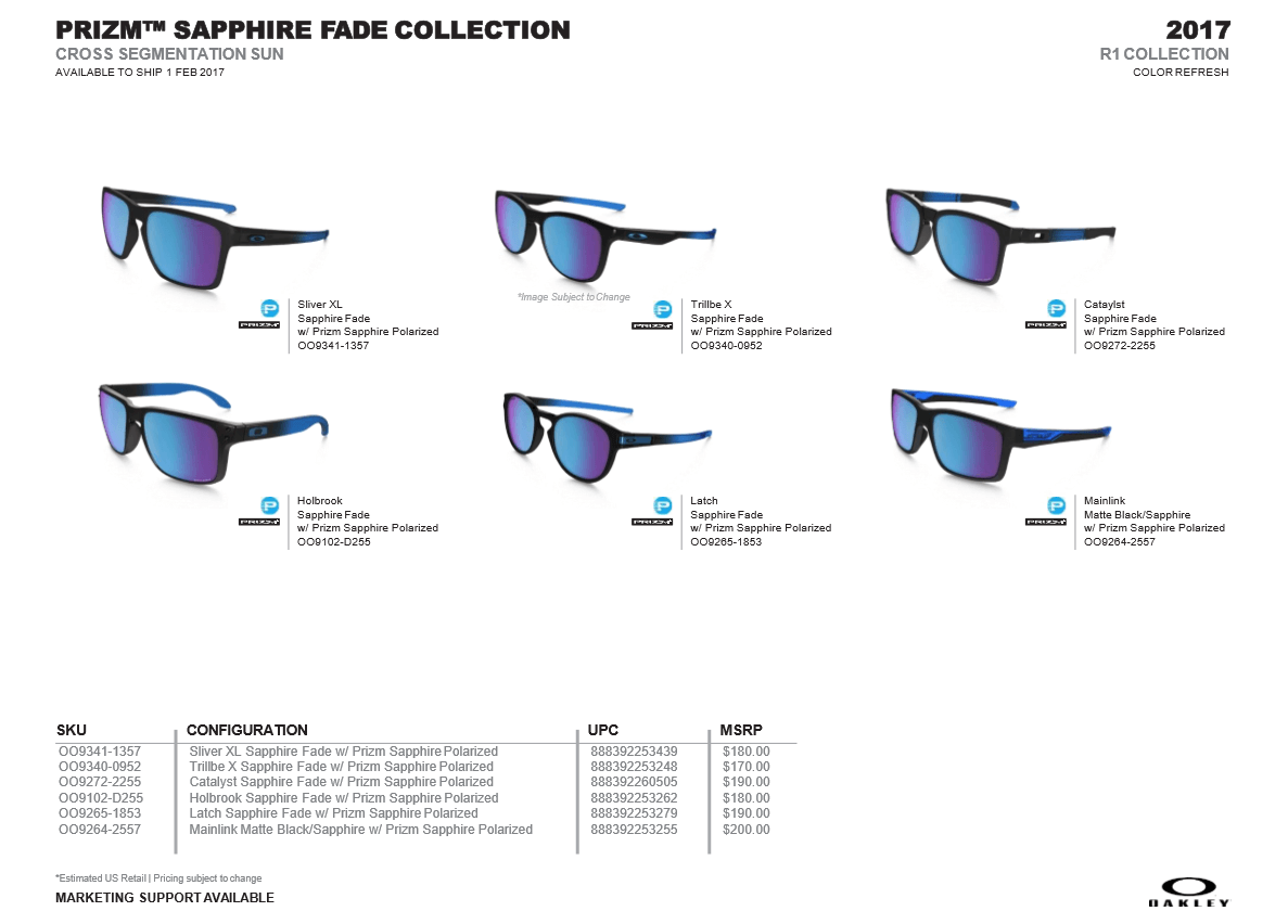 2017 1st Quarter Release Sneak Peak Oakley Forum