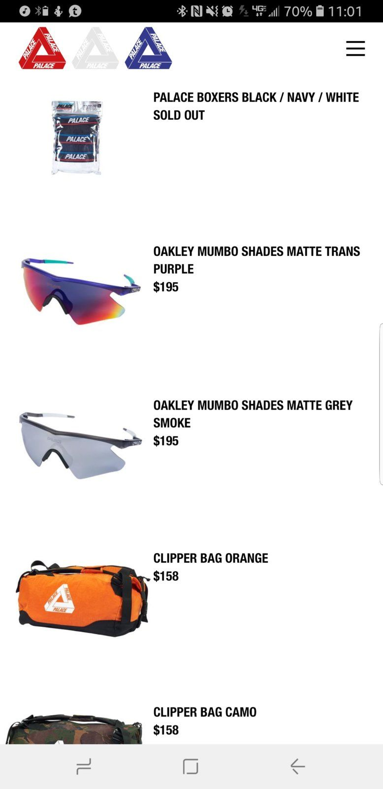 f42fb235 Found - Palace Mumbo + Thermo Hat | Oakley Forum