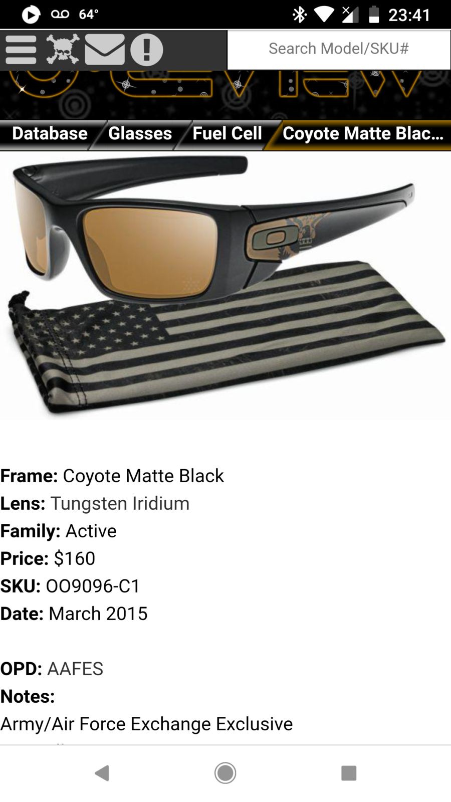9d751aed0 Sold - - SI Exclusive Fuel Cell OO9096-C1 (ARMY/USAF) | Oakley Forum