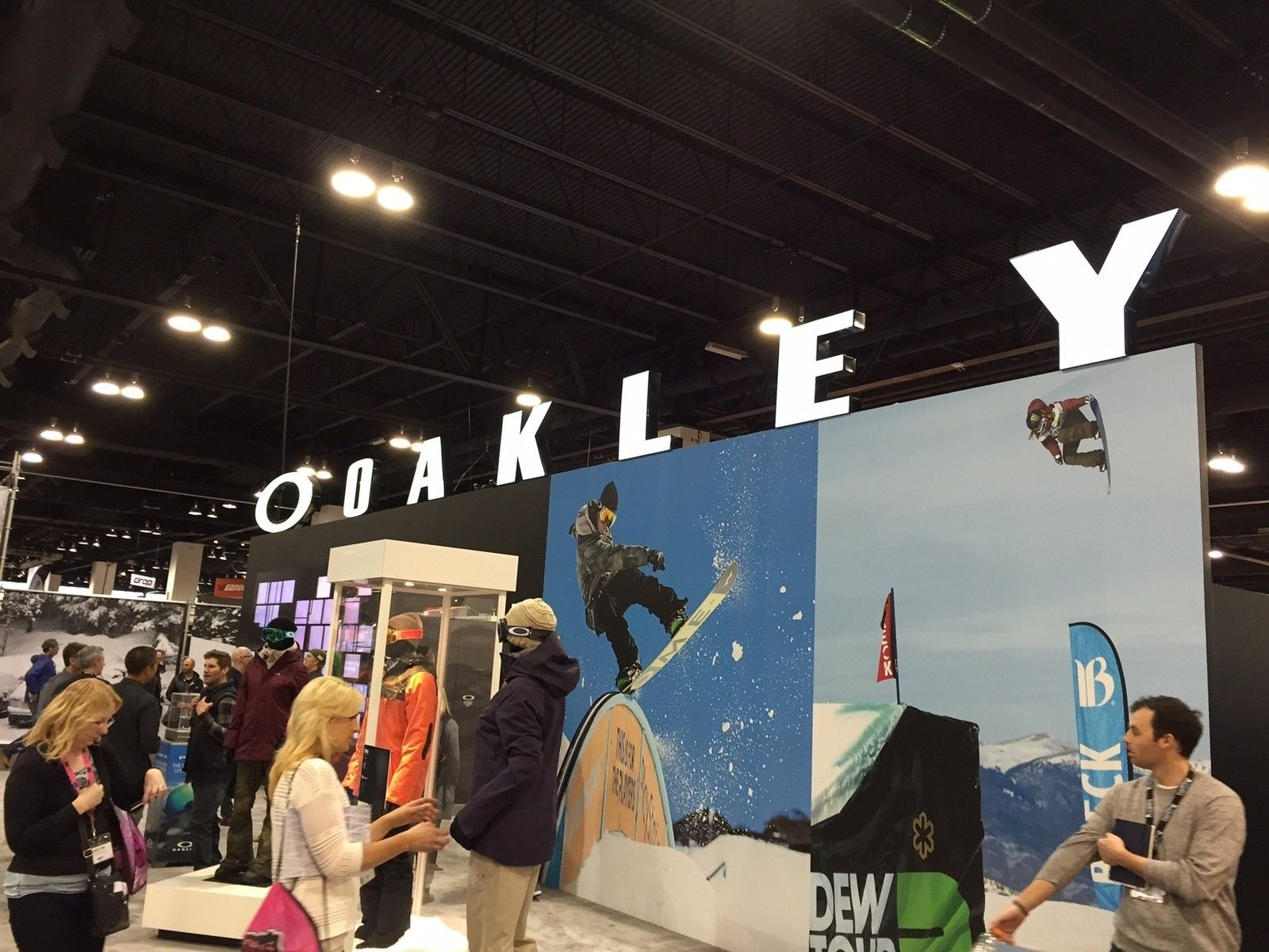 Exhibition Booth Sia : Oakley booth at the sia show in denver forum