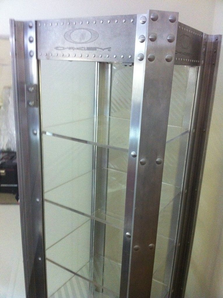 For Sale Single Wide Oakley Display Case Indiana